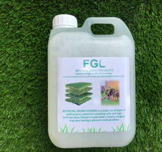 Artificial Grass Cleaner 2 LITRE BOTTLE CONCENTRATE (Dilutes to 22 litres)