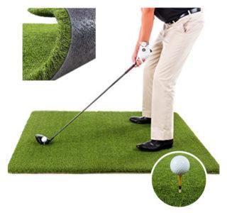Artificial Grass Golf Practice Mat 1m x 1m