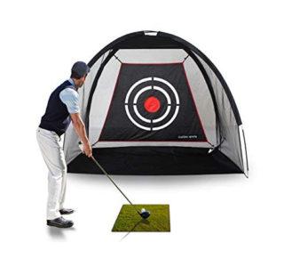 Artificial Grass Golf Practice Mat & Net