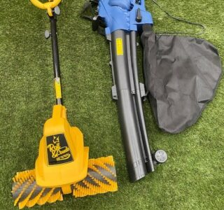 Artificial Grass Power Brush AGM 141EUK   Artificial Grass Power Vacuum And Blower   Twin Pack